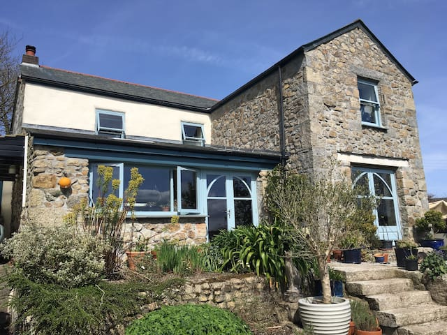Kantara, Old Cornish Cottage - Lanner - Ev