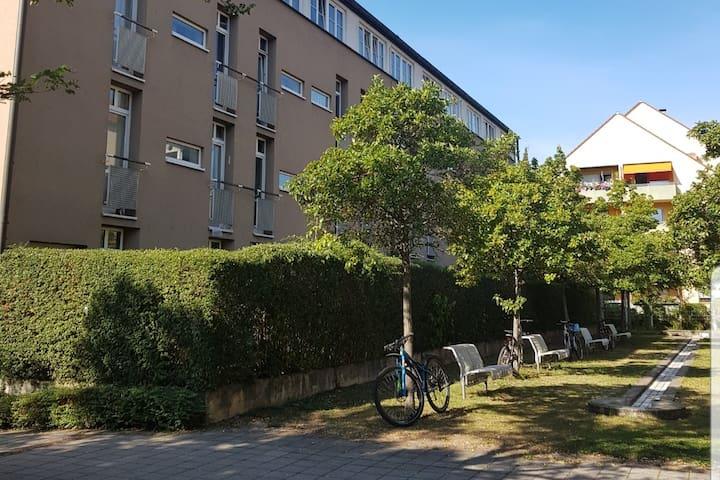 Schöne Helle Zimmer in Erlangen Innenstadt