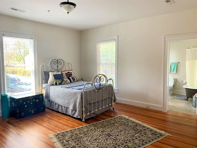 Bright, Newly Renovated 1BR Close to Downtown Mall