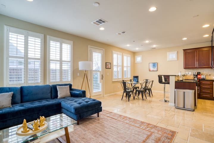 Convenient 4BR in Santa Clara w/ Private Patio