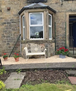 A charming stone maisonette with private garden - Hawick - บ้านพักตากอากาศ
