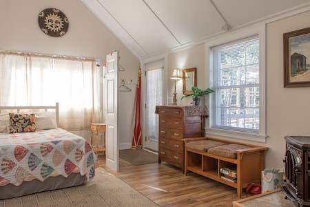 Spacious Year Round Suite on Water View Property! - Harpswell - Appartement