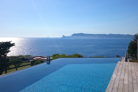 An architect-designed villa, exceptional sea view - Saint-Cyr-sur-Mer - 別荘