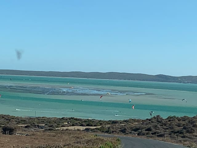 180 degree Lagoon view,  SHARK BAY BEACH 300m walk
