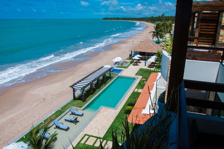 Seaside penthouse at exotic Ipioca Beach, Maceió