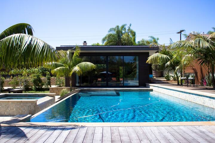 Pool side guesthouse minutes to the beach - Encinitas - Rumah Tamu