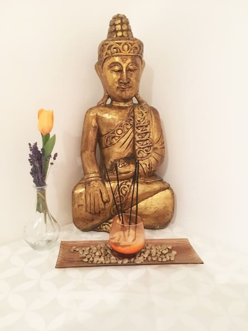 Private Room in Samadhi Buddhist Center Budapest