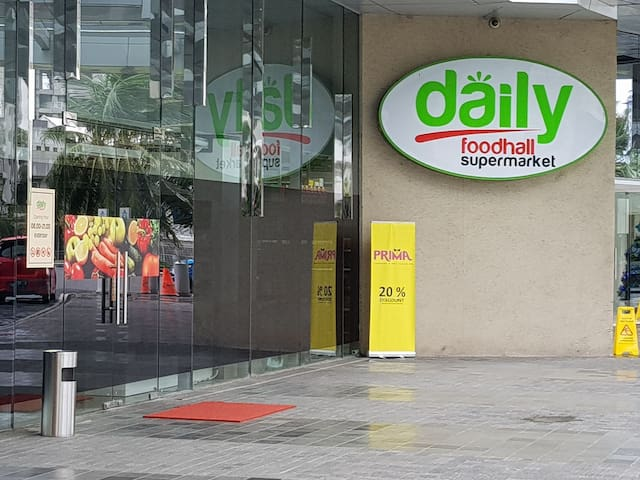 Newly added convenient of Supermarket just next to lobby tower