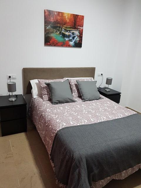 세비야의 아름다운 아파트