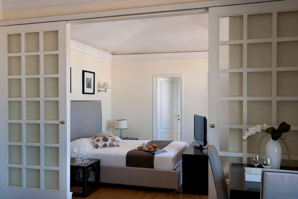 Belvedere Firenze Suite_the bedroom