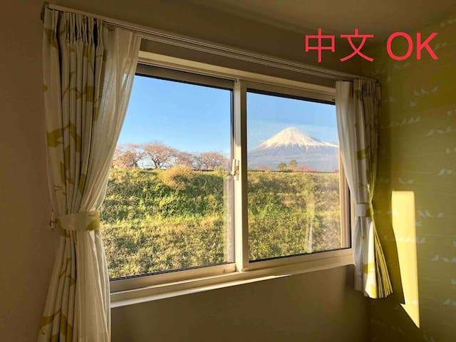 Visible Fuji from house