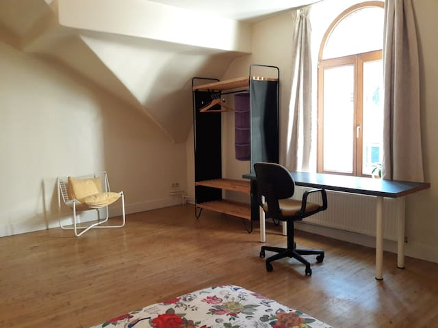 Nice furnished room 20 m2 in a spacious mansion