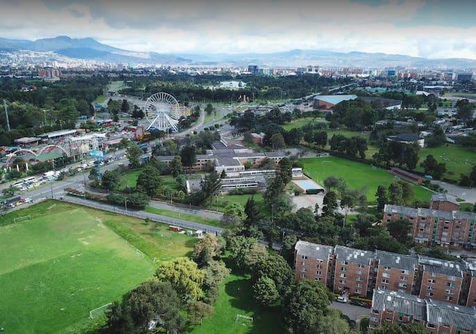 Refugio Verde en el Corazón de Bogotá.