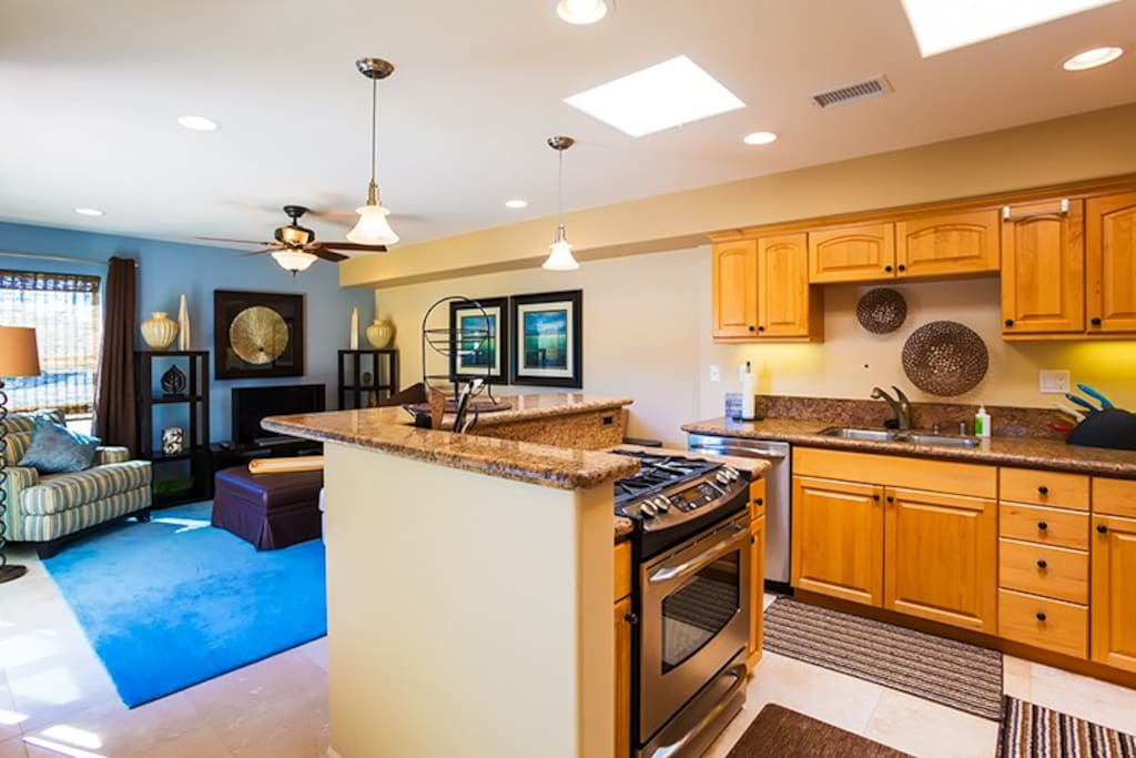 Beautiful open floor plan is perfect for family time.