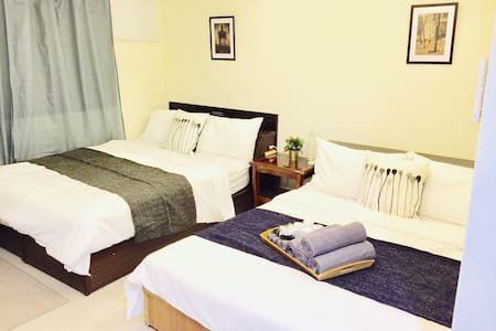Perfect Studio for 1-4 Guest - 4 min walk XimenMRT