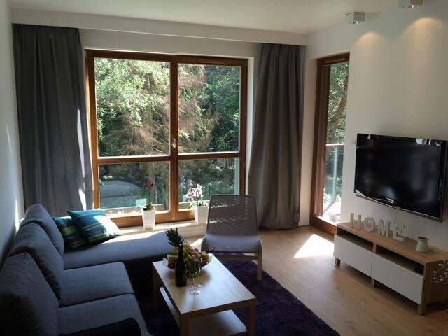 Apartament Nadmorski Dwór Gdańsk Brzeźno PLAŻA