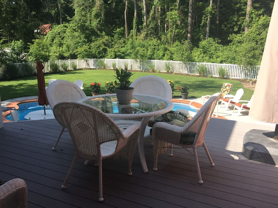 View of Deck and Pool