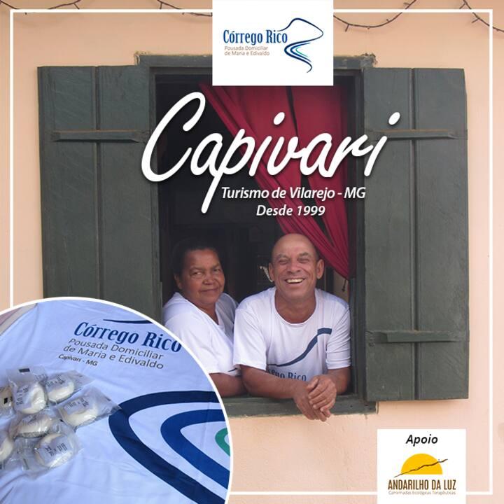 POUSADA DOMICILIAR EM CAPIVARI, SERRO MG