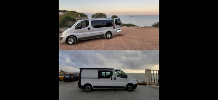 Adventure in Mallorca- Nissan Primastar&Renault T.