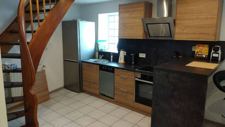 Large 1 bed duplex apartment in Mackenbach