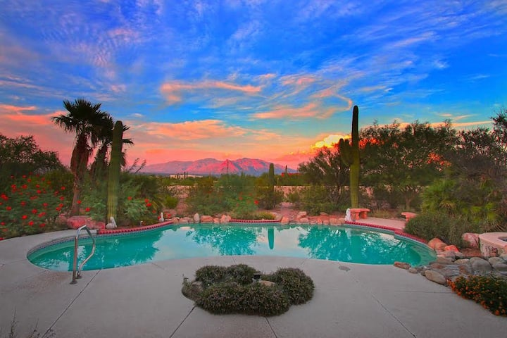Desert Oasis, Outdoor Living,  Pool/Spa,  Private