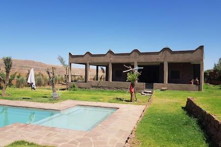 Villa 2000m2 piscine privee  campagne - Marrakech