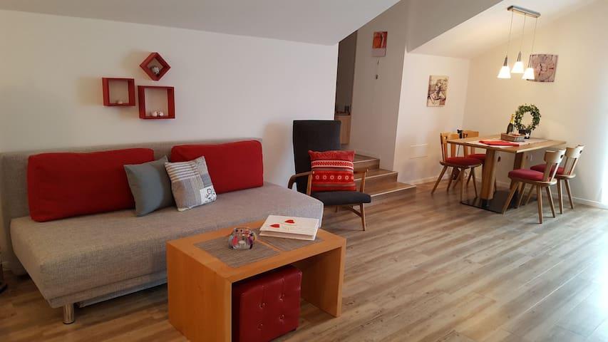 Wohnung mit gemütlicher Sitzecke