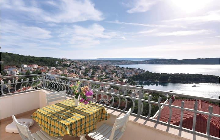Stunning home in Trogir with 1 Bedrooms