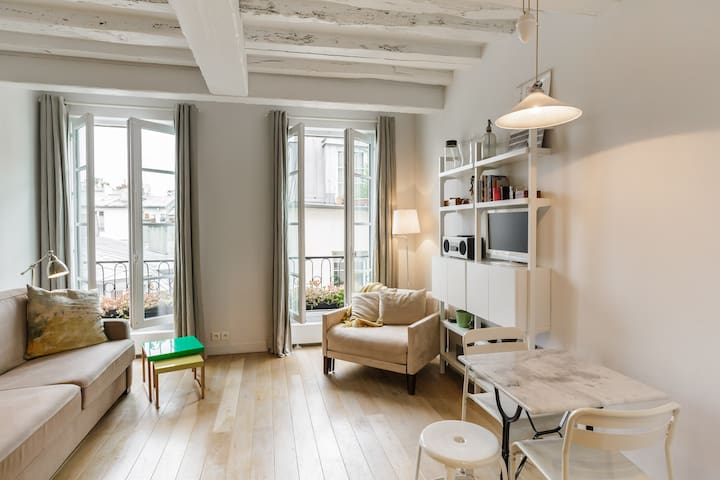 Marais - Luxury Suite with View - Paris - Apartamento