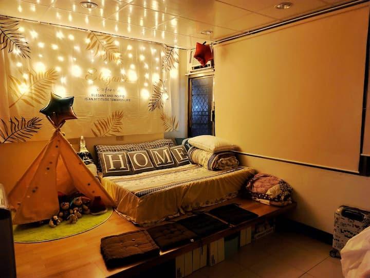 苗栗 後龍Welcome homes(4人親子房)