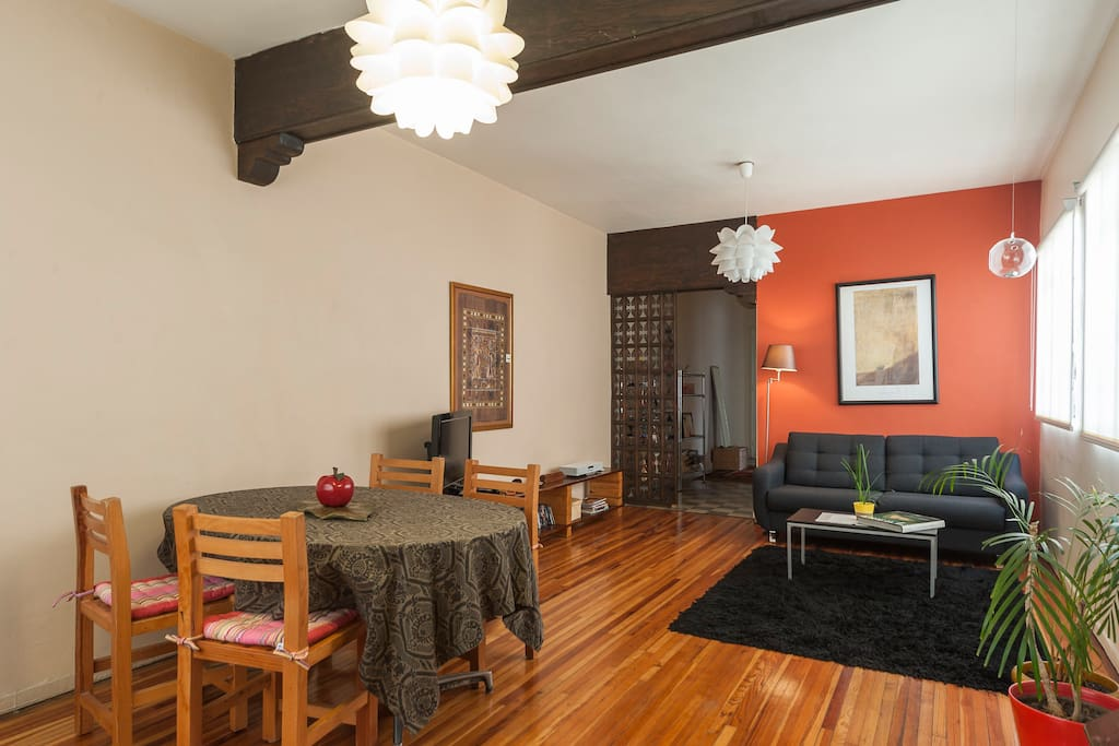 Living - Dining Room - full view