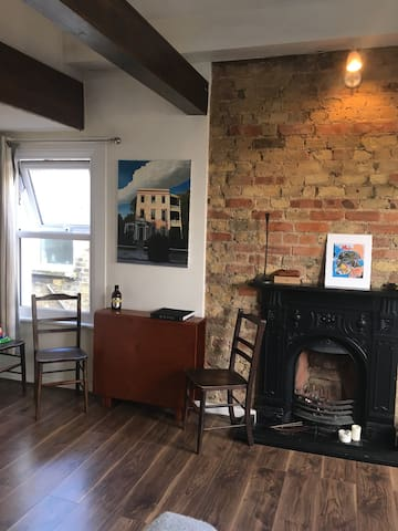 Cosy Cute & Warm Flat - London - Loft