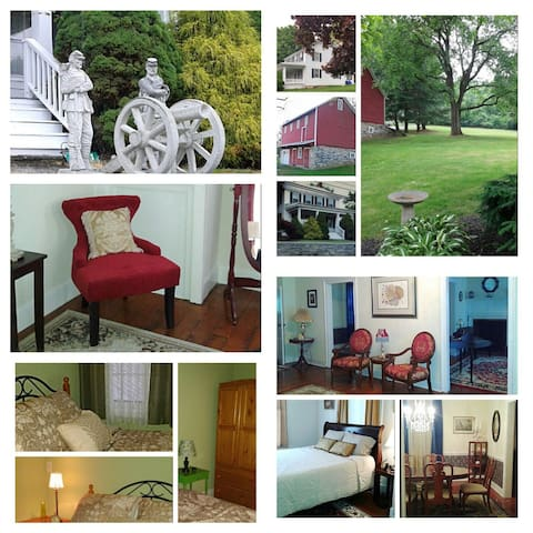 The Abbey Historic Bed & Breakfast, LLC...then&now - Gettysburg - Inap sarapan