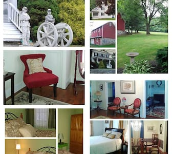 The Abbey Historic Bed & Breakfast, LLC...then&now - 葛底斯堡(Gettysburg) - 住宿加早餐