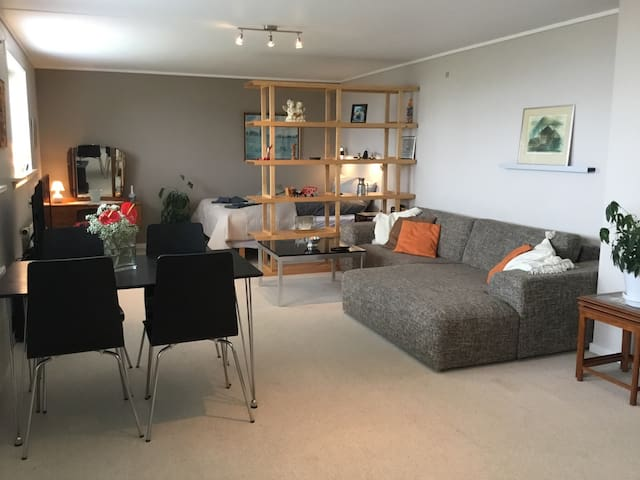 Torshavn center cozy apartment 65m2 with sea view