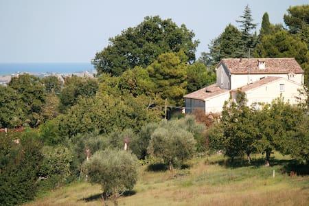 Appartamento in villa del '700 - Cartoceto - Huoneisto