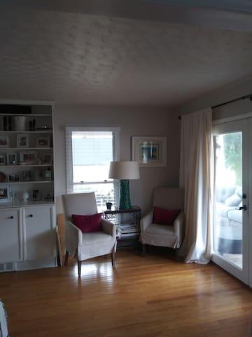 Living room /back door