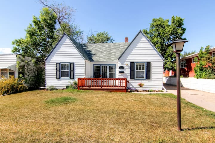 Charming 2BR Rapid City House w/Large Backyard