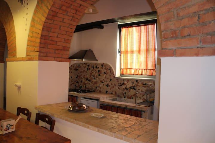 La grotta - Pitigliano - บ้านดิน