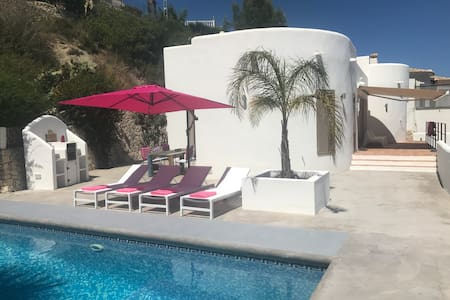 Ibiza villa, pool, private, seaview
