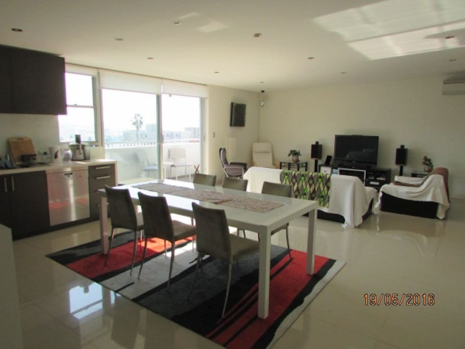 Spacious open plan lounge and dining