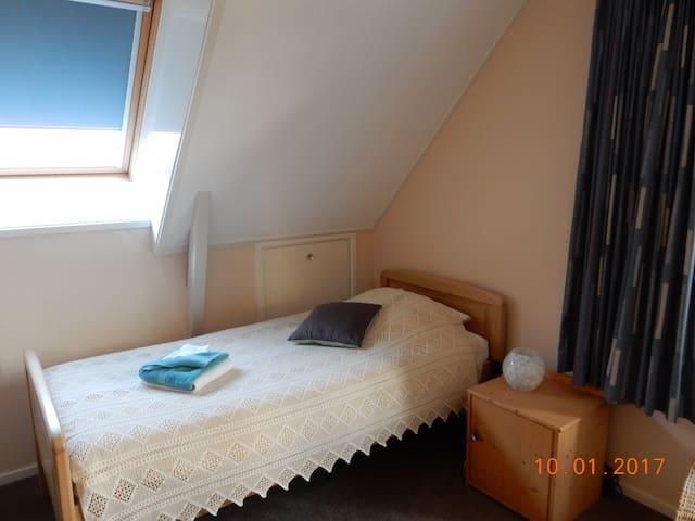 Overnachten aan de bosrand; kamer 'bosuil' - Roden - Bed & Breakfast