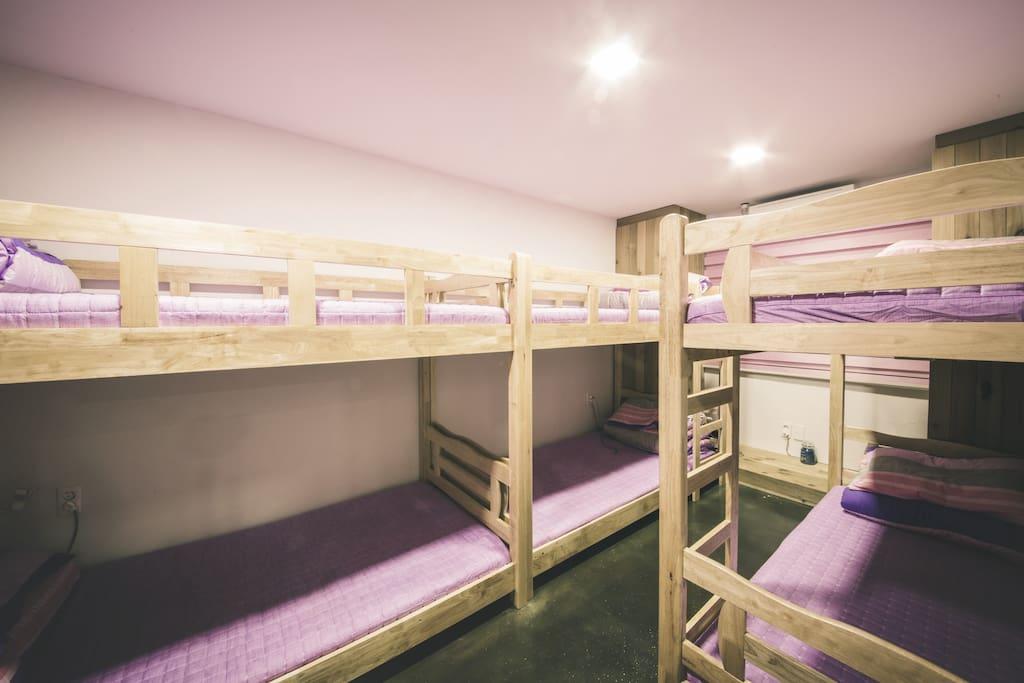 6 share dorm