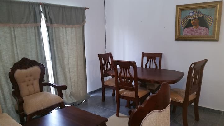 Cofresi Apartment, Have Restaurant in front