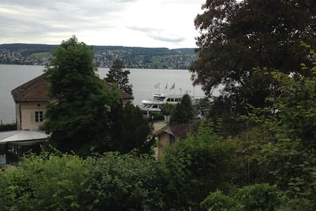 Spacious apartment with great Zürich lake views - Thalwil