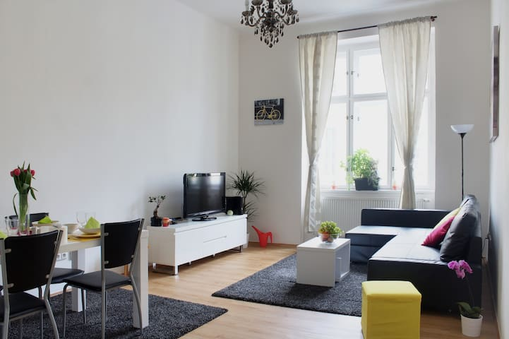 3 rooms in CENTRE of PRAGUE, free fast internet - Prague - Apartment
