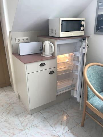 equipment breakfast area