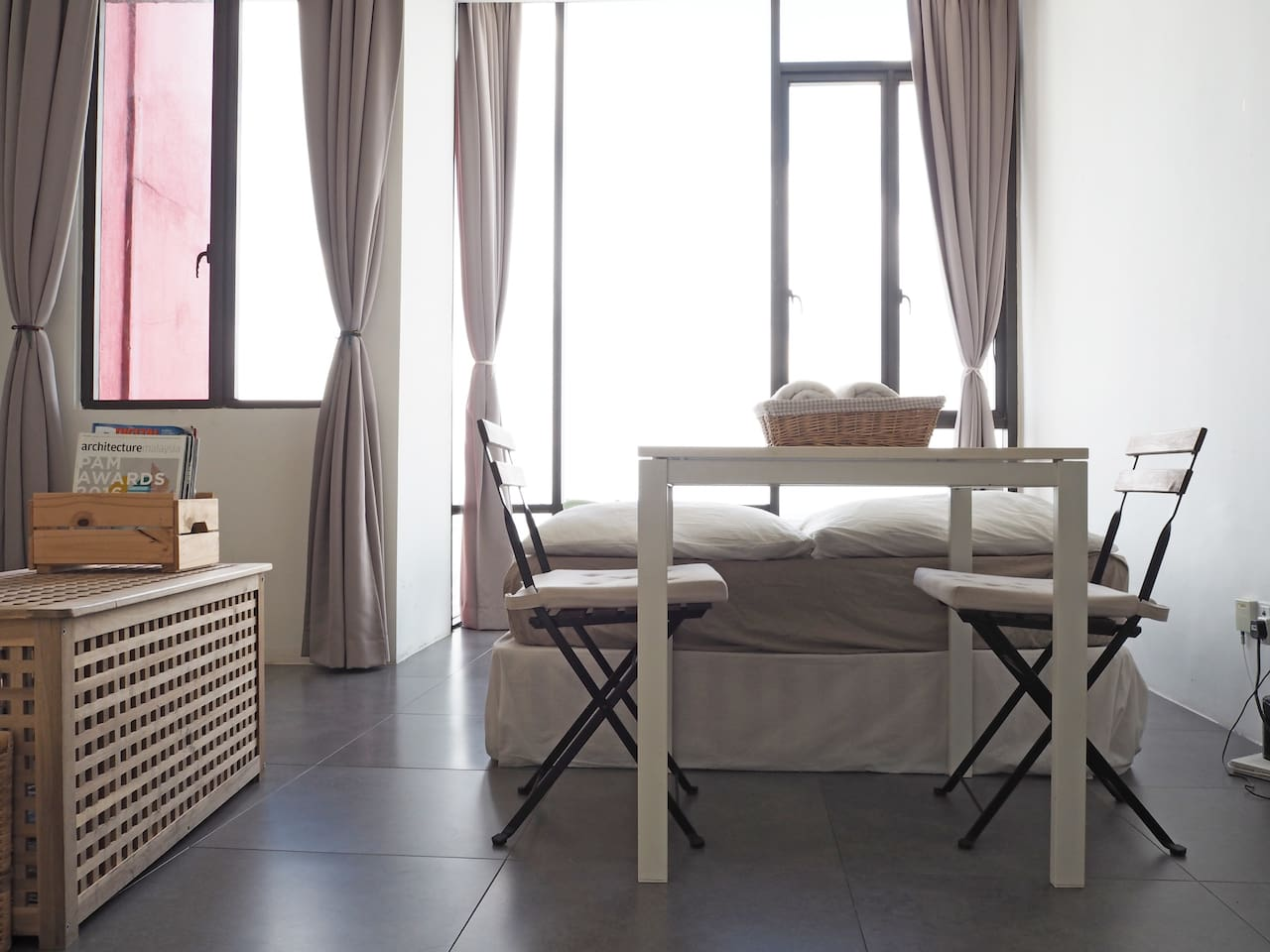 "Welcome to the one and only MUJI Airbnb, your MUJI retreat. Indulge in ""brandless"", discard materialistic lives and dive into the simple, minimalistic quality of lives."