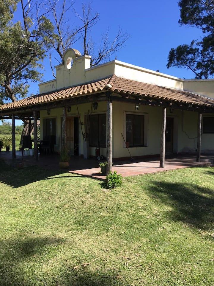 """ Alquiler Temporario Casa de Campo, Ranchos """