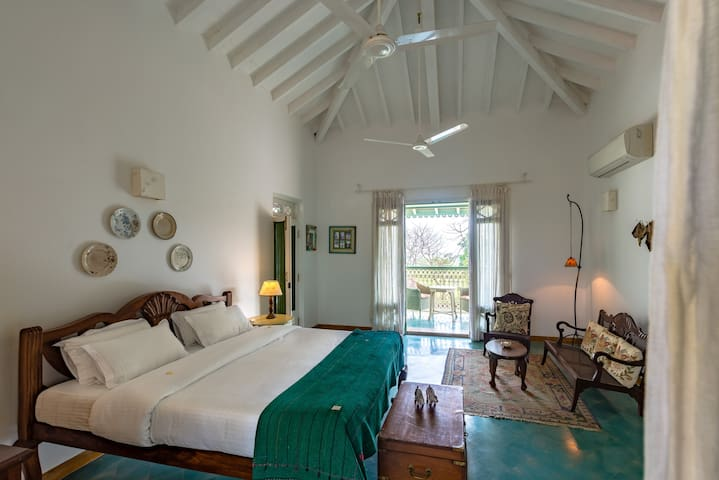 Room with Private balcony at The Postcard Velha